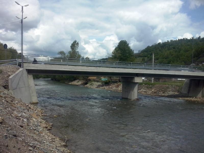 Pod peste raul Viseu, orasul Viseu de Sus, jud. Maramures